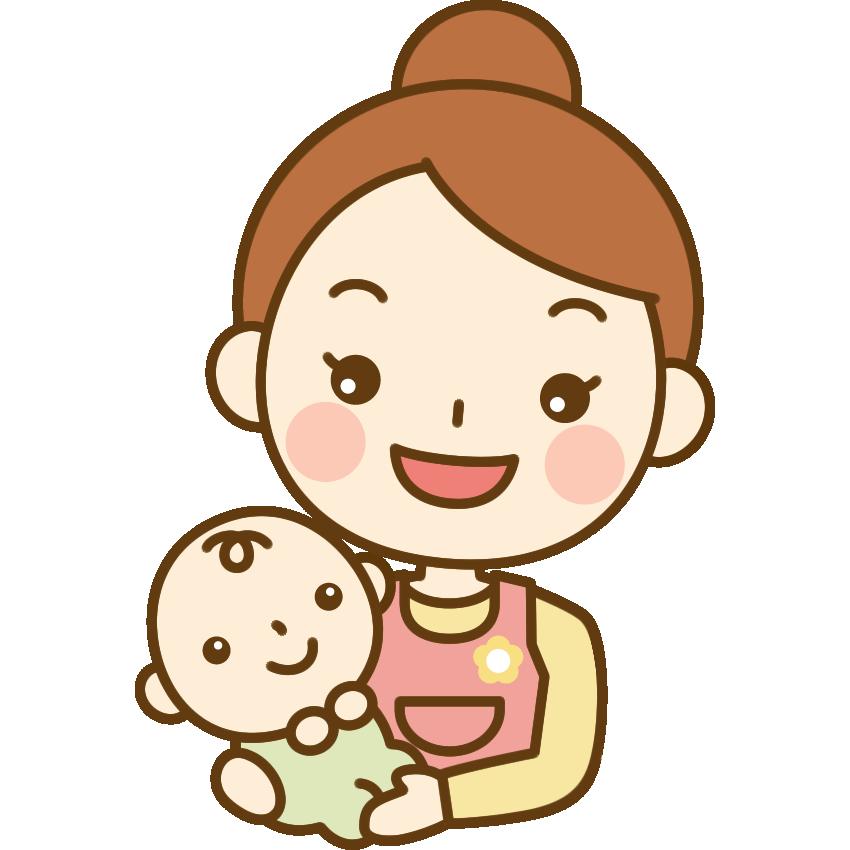 赤ちゃんを抱っこする保育士の ... : 無料読み聞かせ 絵本 : 無料