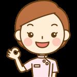 OKポーズをする整体師(鍼灸師)のイラスト